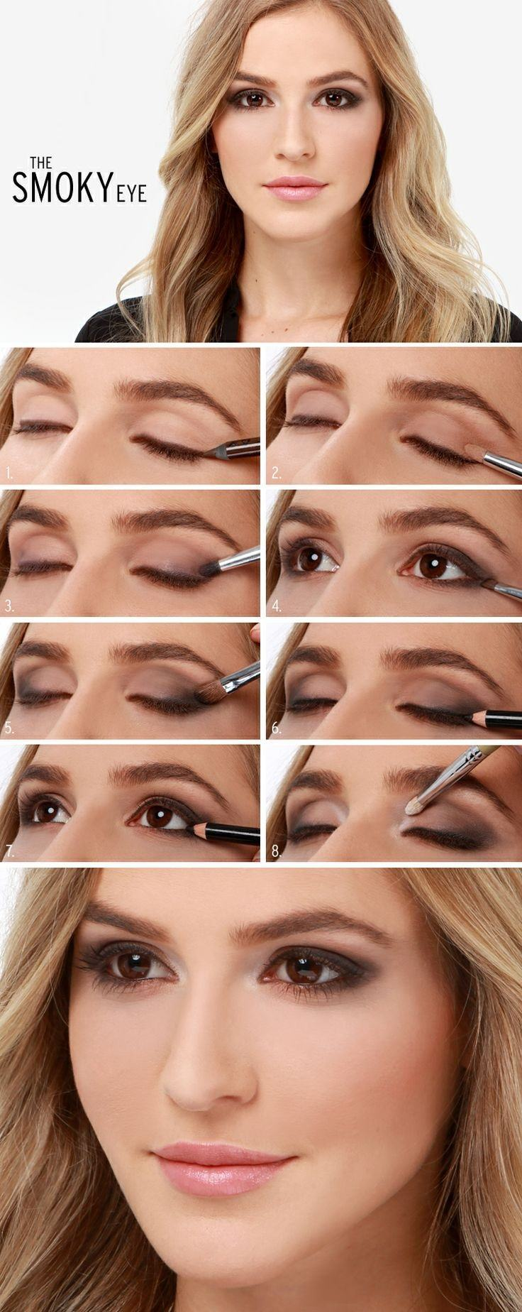 25 easy and dramatic smokey eye tutorials this season smoky eye makeup tutorial 25 easy and dramatic smokey eye tutorials this season baditri Gallery