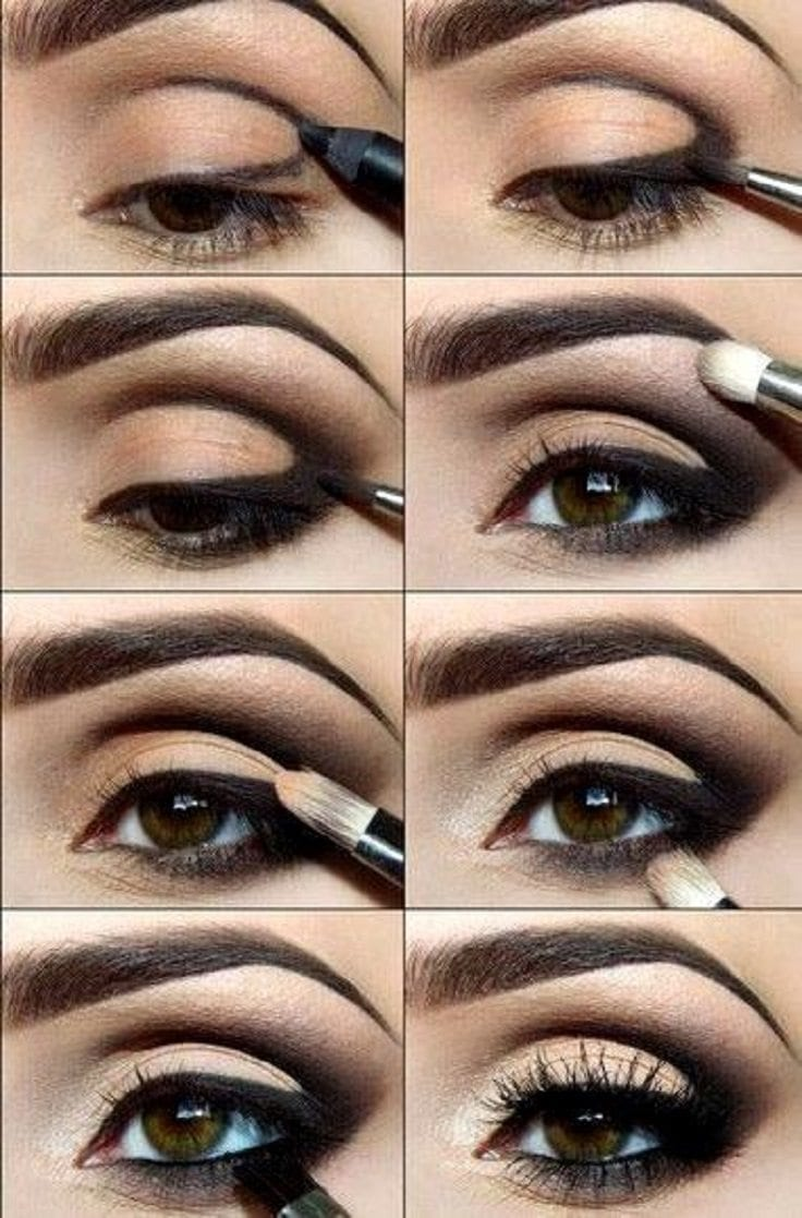 25 easy and dramatic smokey eye tutorials this season baditri Image collections