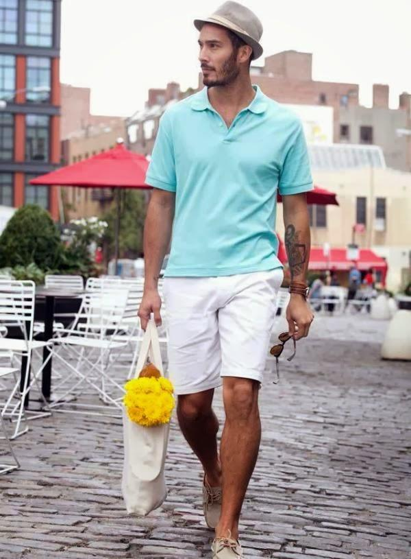 Spring-polo-shirts 25 Modern Ways to Wear Polo Shirts with other Outfits