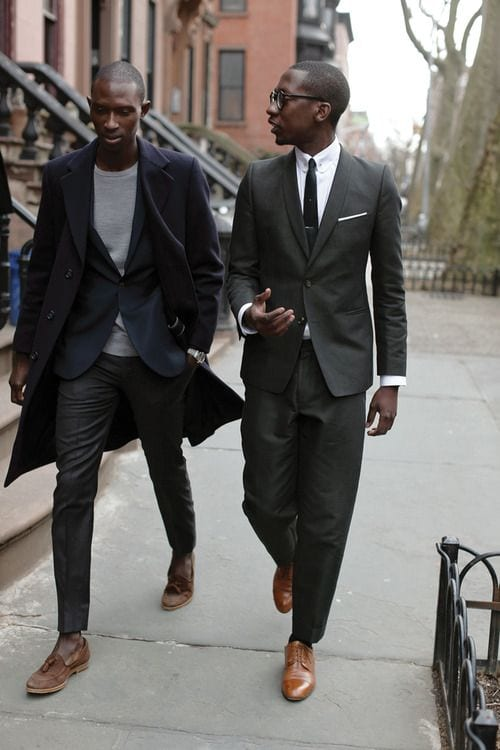Street-style-african-men 18 Popular Dressing Style Ideas for Black Men - Fashion Tips