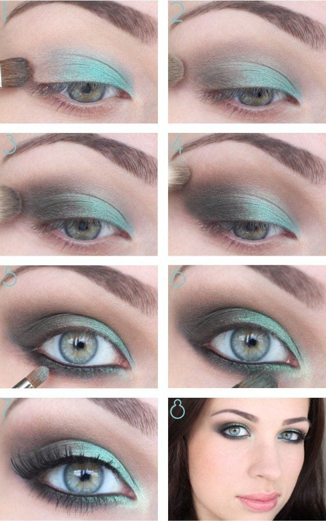 25 easy and dramatic smokey eye tutorials this season for How to get makeup out of white shirt