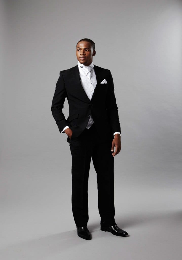 Black Man On Suit Dress Yy
