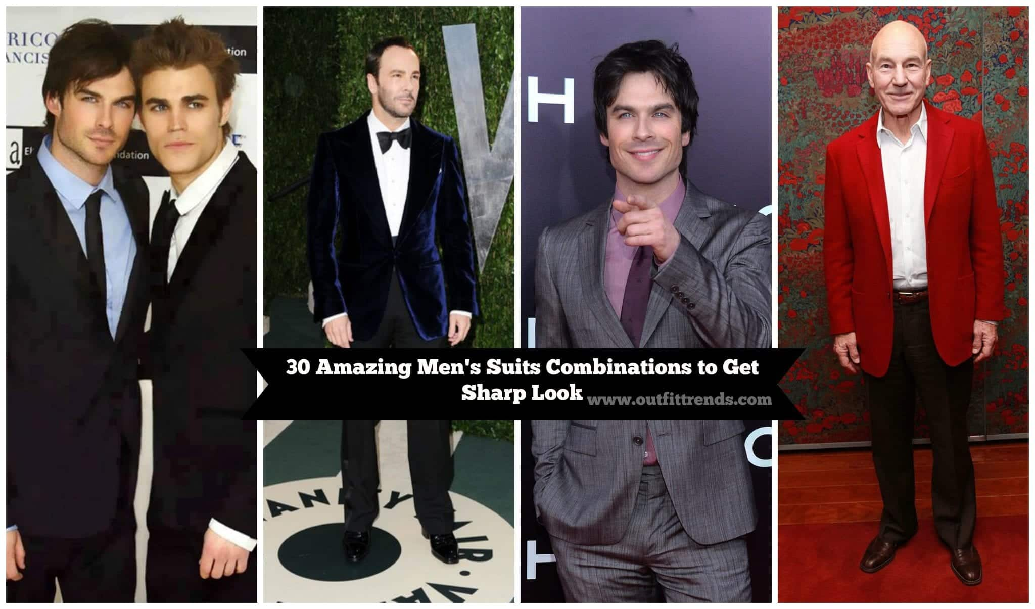 best-suit-combinations-for-men-this-year 30 Amazing Men's Suits Combinations to Get Sharp Look