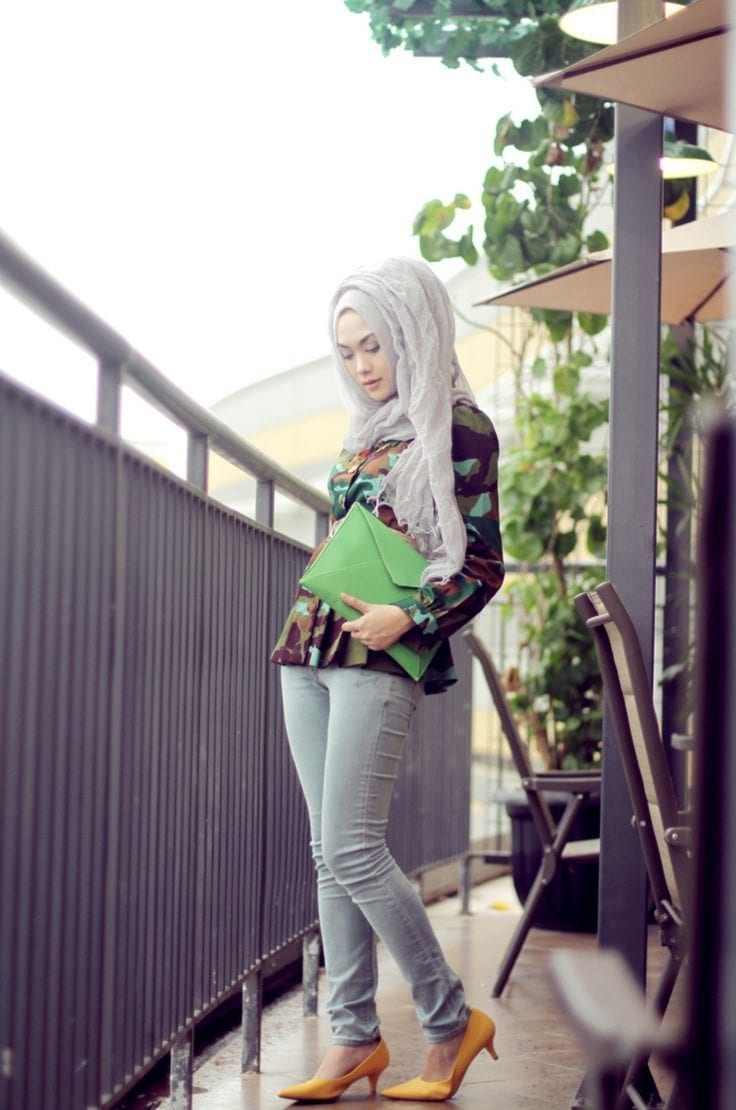 Hijab Fashion Jeans 1000 Images About Skirt Casual Hijab On
