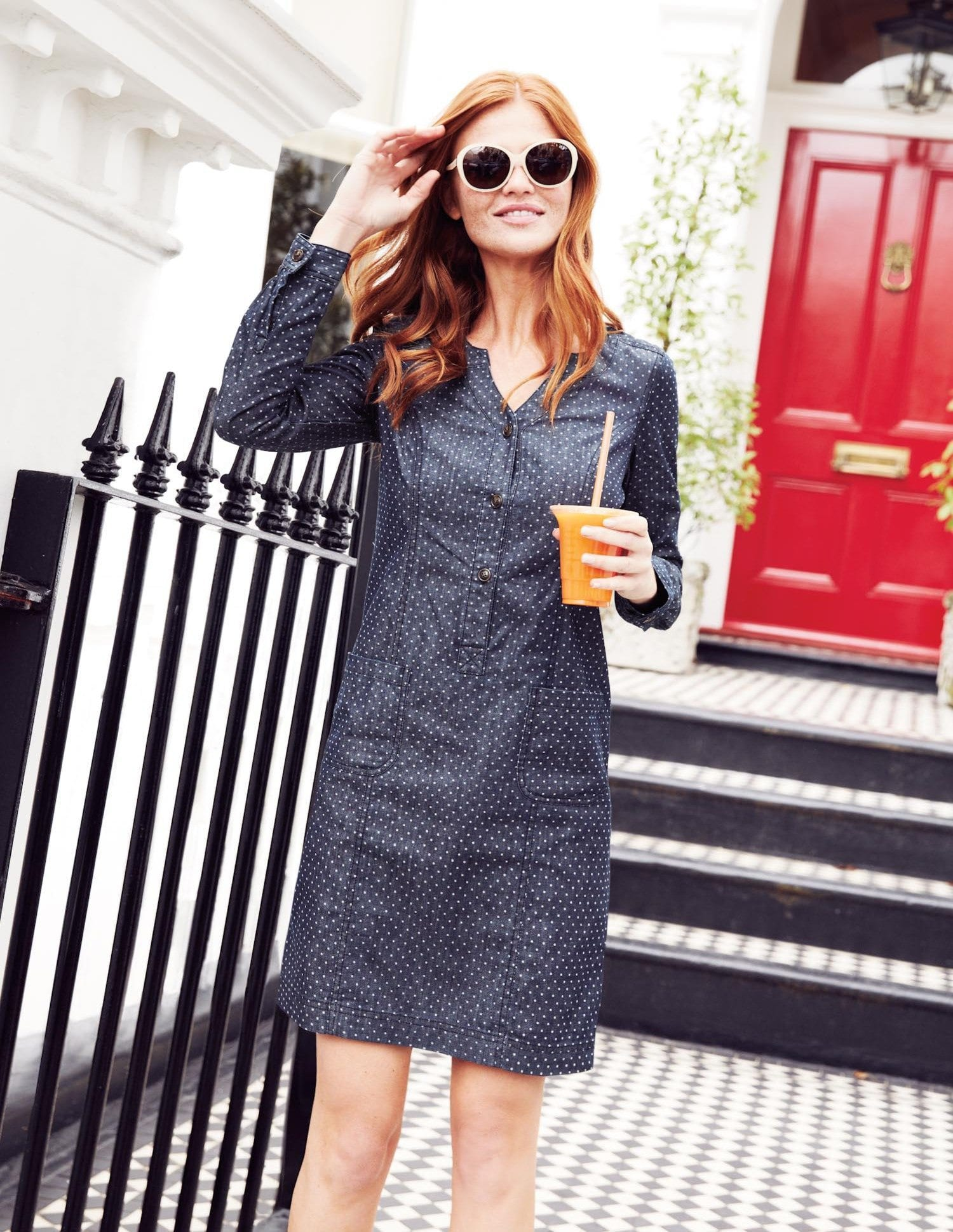 cool-denim-dress-shirts 32 Beautiful Denim Dress to Inspire your daily Fashion