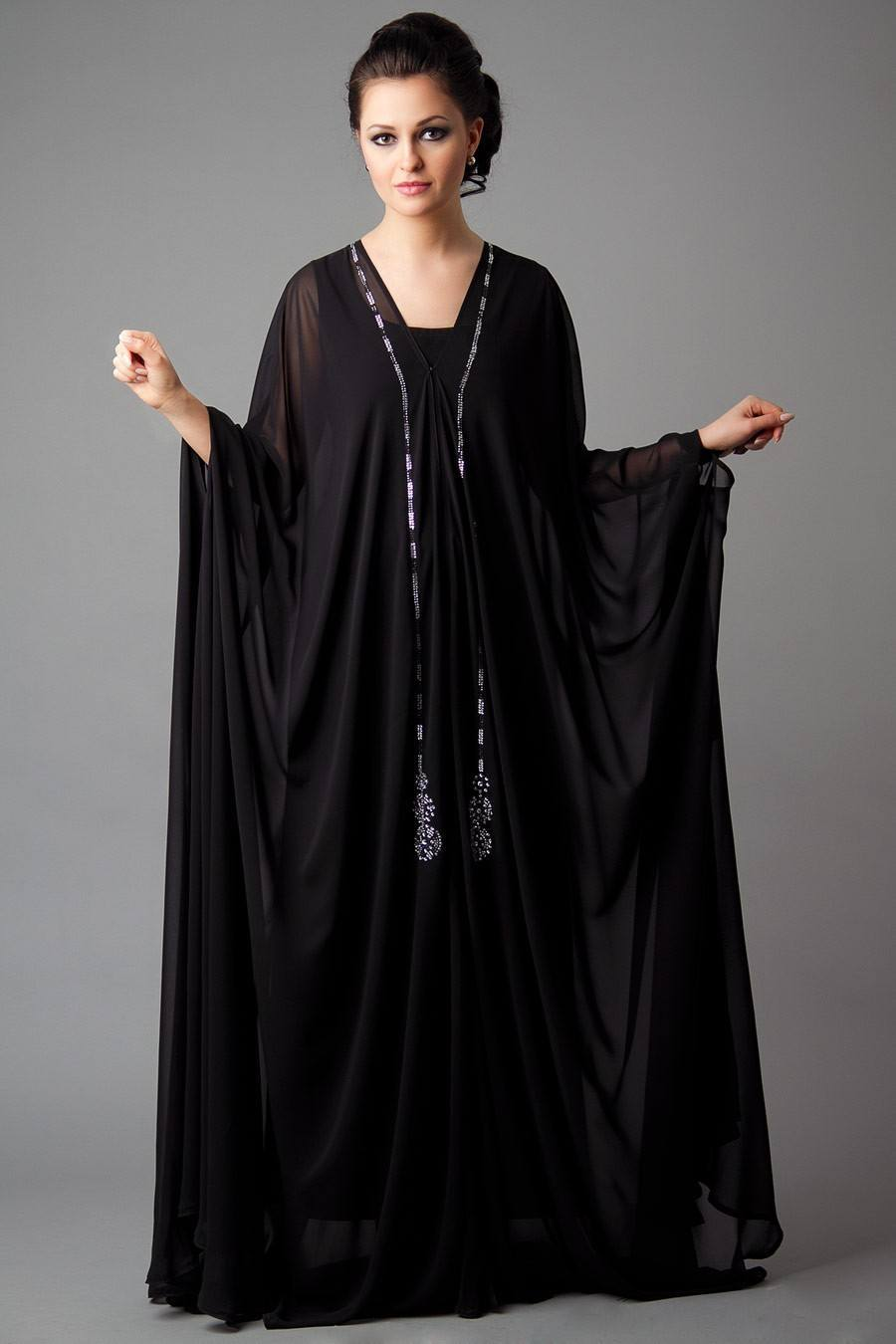 cute black abayas