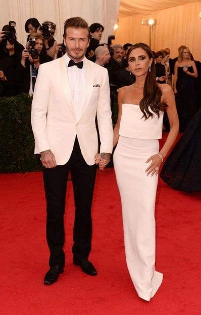 david-victoria-beckham-matching-suits-4 30 Amazing Men's Suits Combinations to Get Sharp Look
