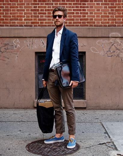 casual suiting ideas for men