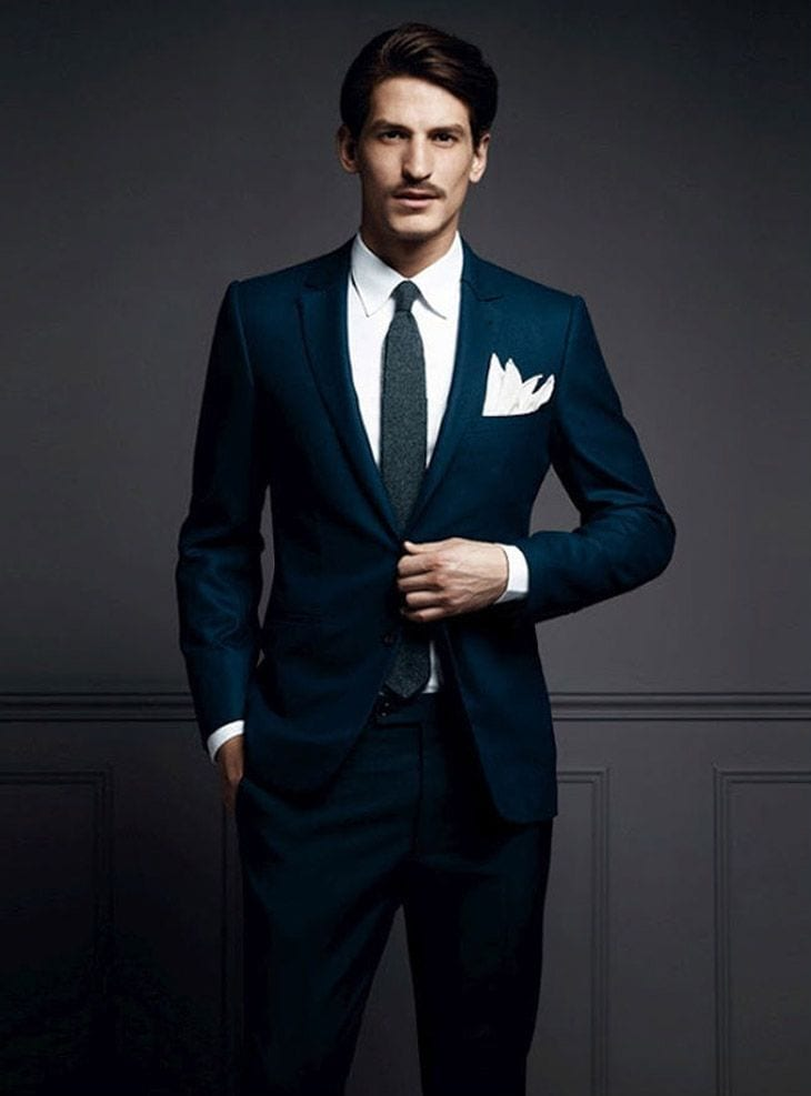 gentle-suiting 30 Amazing Men's Suits Combinations to Get Sharp Look