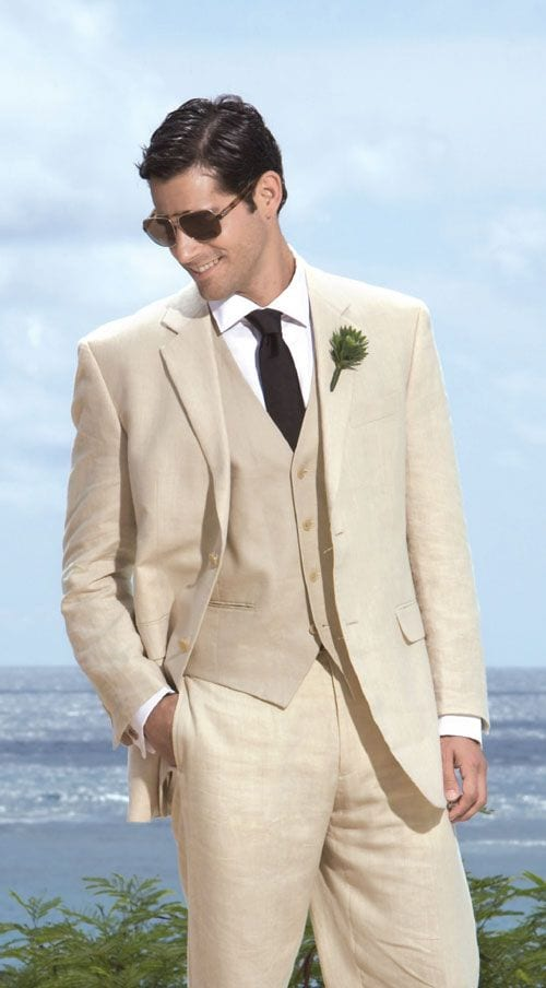 grooms-suite1 30 Amazing Men's Suits Combinations to Get Sharp Look