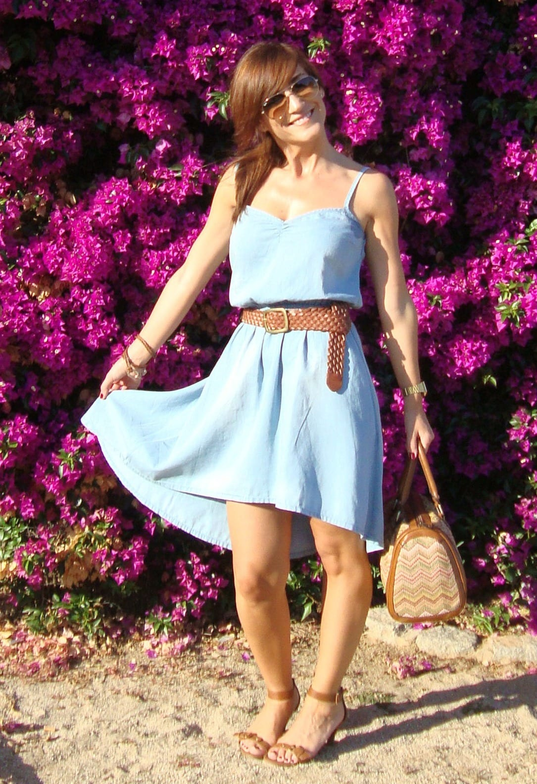 how-to-wear-denim-dress 32 Beautiful Denim Dress to Inspire your daily Fashion