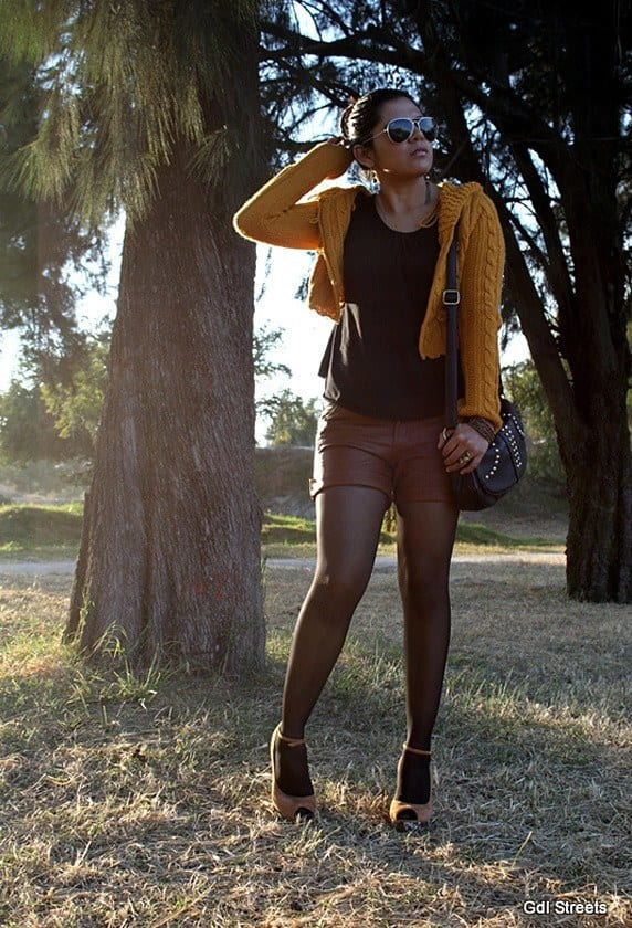 leather-short-2015 Cute Leather shorts outfits - 30 Ways to Wear Leather Shorts