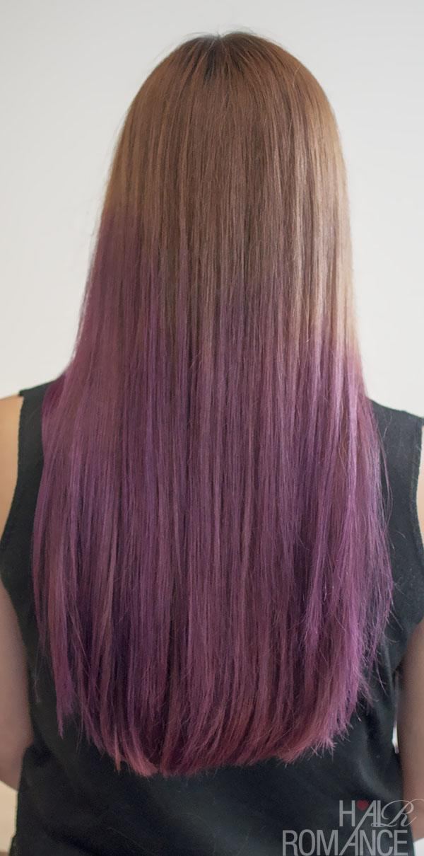 purple-ombre-hair Purple Hairstyles- These 50 Cute Purple Shade Hairstyles You Cant Resist Trying