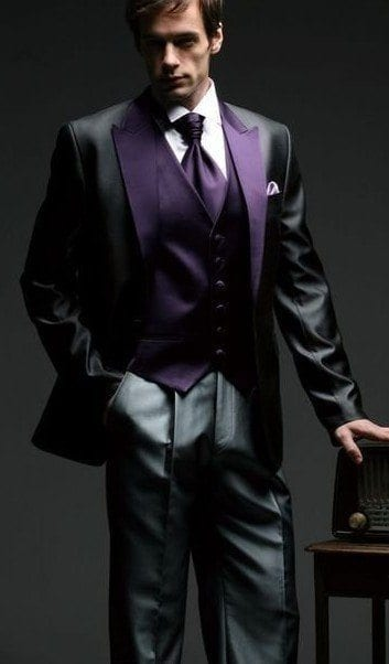 shiny-party-suite 30 Amazing Men's Suits Combinations to Get Sharp Look