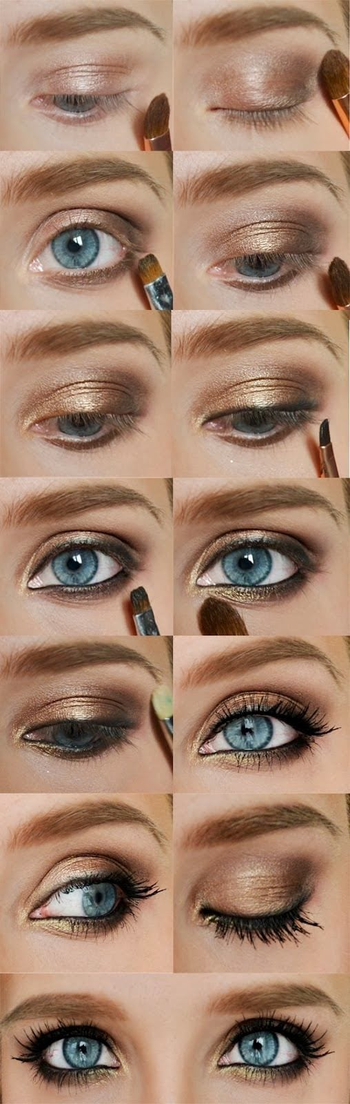 smokey eye for summer