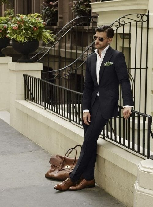 street-style-suiting 30 Amazing Men's Suits Combinations to Get Sharp Look
