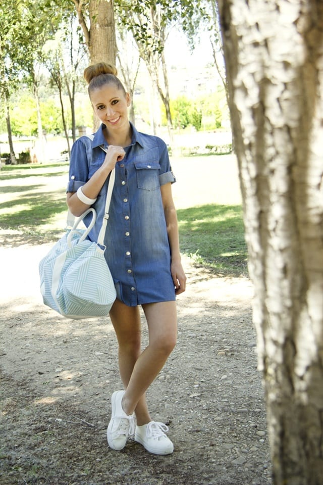 stylish-jean-dresses-for-girls 32 Beautiful Denim Dress to Inspire your daily Fashion
