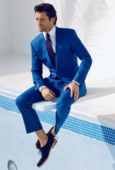 summer-suiting-idea 30 Amazing Men's Suits Combinations to Get Sharp Look