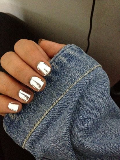 40fc99fe9123a613f40c776e7869d9e7 Warning: These 25 Metallic Nails Will Make You Change Your Nail Design Now