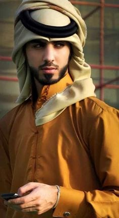 Arab-man-style2 Omar Borkan's 100 Latest, Hottest and Most Stylish Pictures
