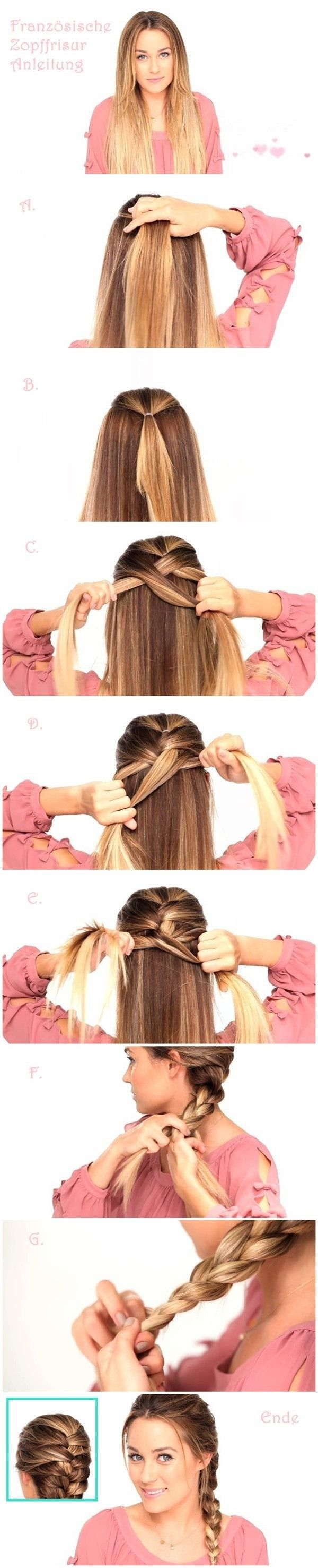 Braided-Hairstyle-Ideas 20 Cute and Easy Braided Hairstyle Tutorials