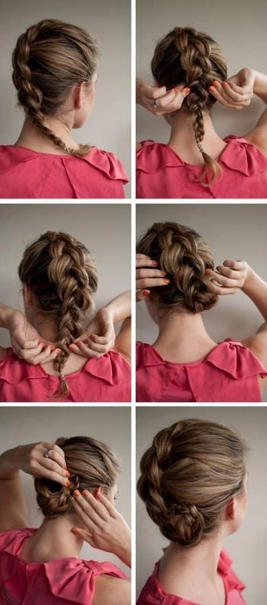 Braided-Hairstyle-Making-Ideas 20 Cute and Easy Braided Hairstyle Tutorials