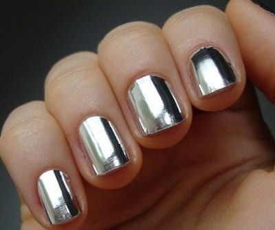 Chrome-Nail-Desgins Warning: These 25 Metallic Nails Will Make You Change Your Nail Design Now