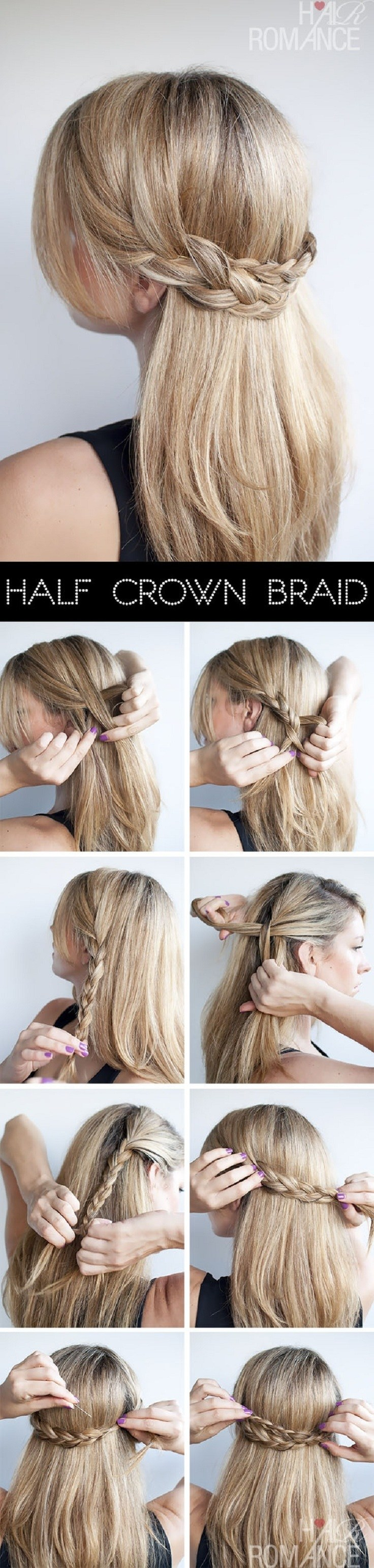 Tremendous Easy Hair Braids Step By Braids Hairstyle Inspiration Daily Dogsangcom