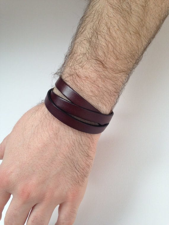 Cool-wristband-men 35 Most Trendy and Cool Leather Bracelets for Men