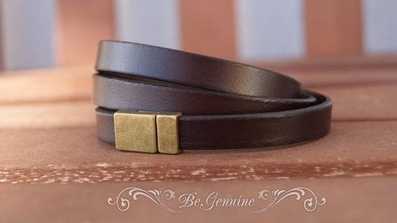 Dark-Brown-Men-Bracelets 35 Most Trendy and Cool Leather Bracelets for Men