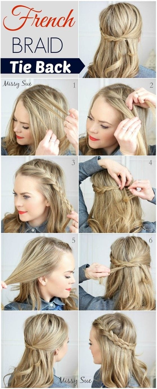 Admirable Easy Hairstyles French Braids Braids Short Hairstyles Gunalazisus