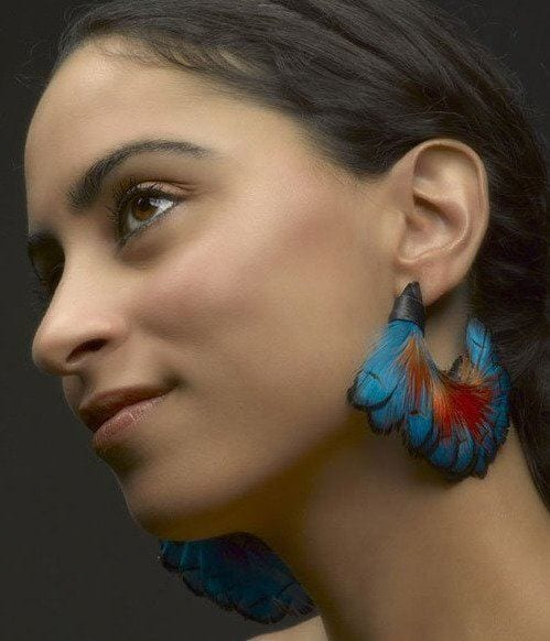 Feather Earring Trends