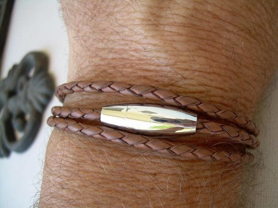Friendship-Bracelets 35 Most Trendy and Cool Leather Bracelets for Men