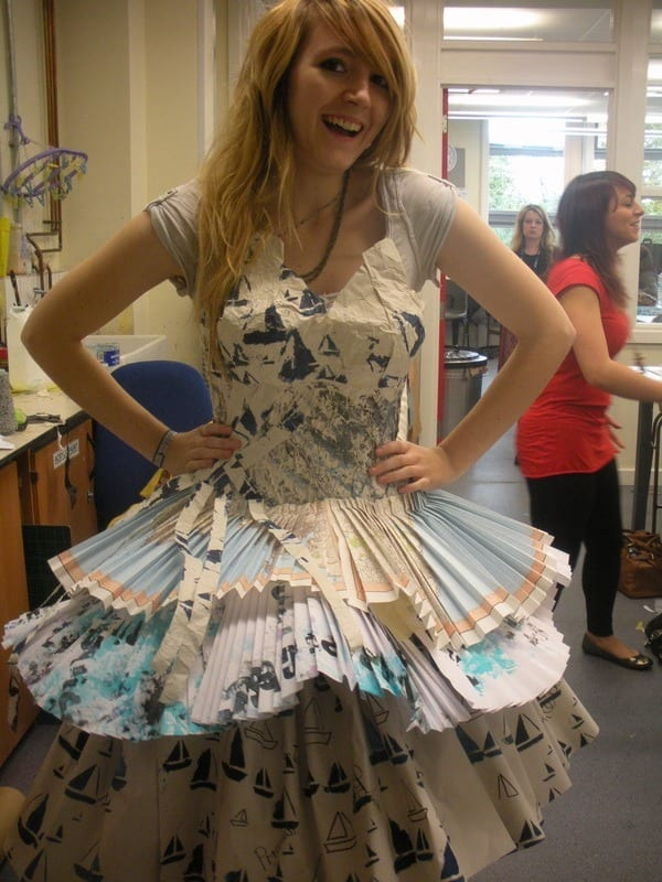 Fun-paper-clothes 26 Amazing Paper Dresses Collection and Ideas
