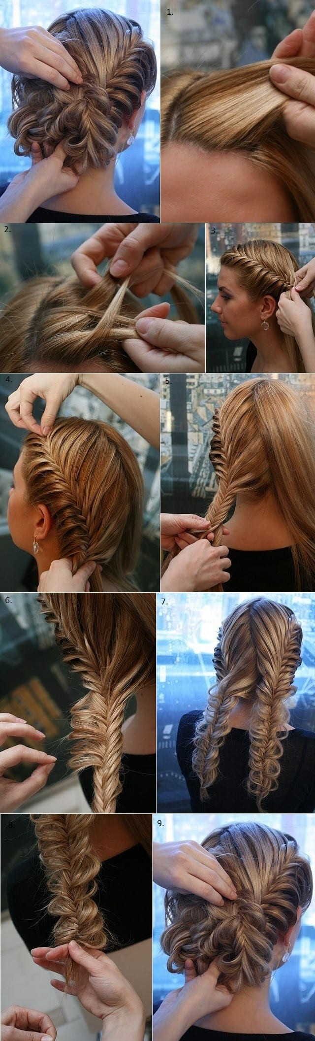 How-to-Make-Beaided-hairstyle 20 Cute and Easy Braided Hairstyle Tutorials