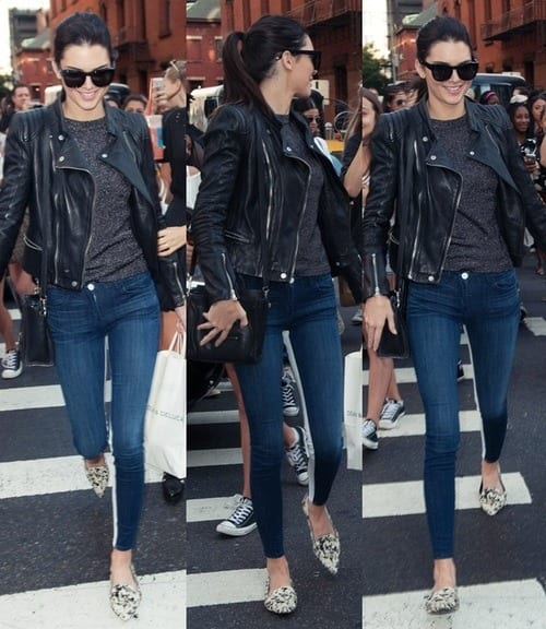 Kendal-Jenner-Jackets 30 Most Stylish Kendall Jenner Outfits of All Time