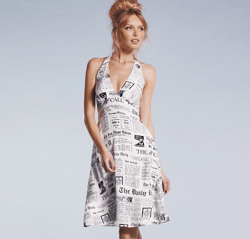 Newspaper-Dressing 26 Amazing Paper Dresses Collection and Ideas