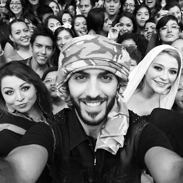 Omar-Borkan-Selfies Omar Borkan's 100 Latest, Hottest and Most Stylish Pictures