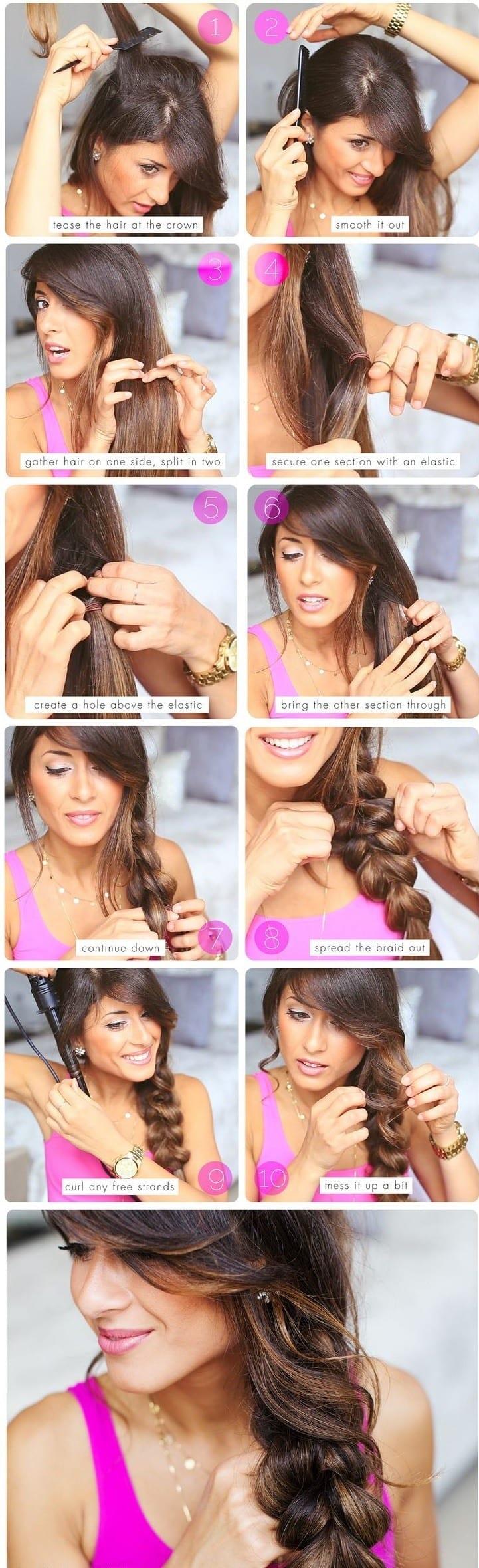 Fabulous Steps To Do Braided Hairstyles Braids Short Hairstyles For Black Women Fulllsitofus
