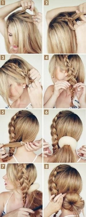 20 cute and easy braided hairstyle tutorials