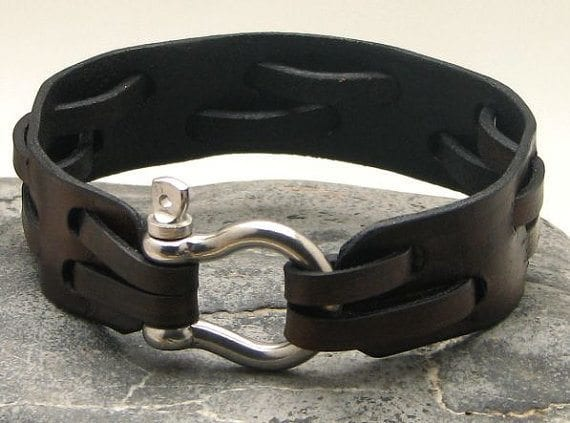 Trendy-Men-Bracelets 35 Most Trendy and Cool Leather Bracelets for Men