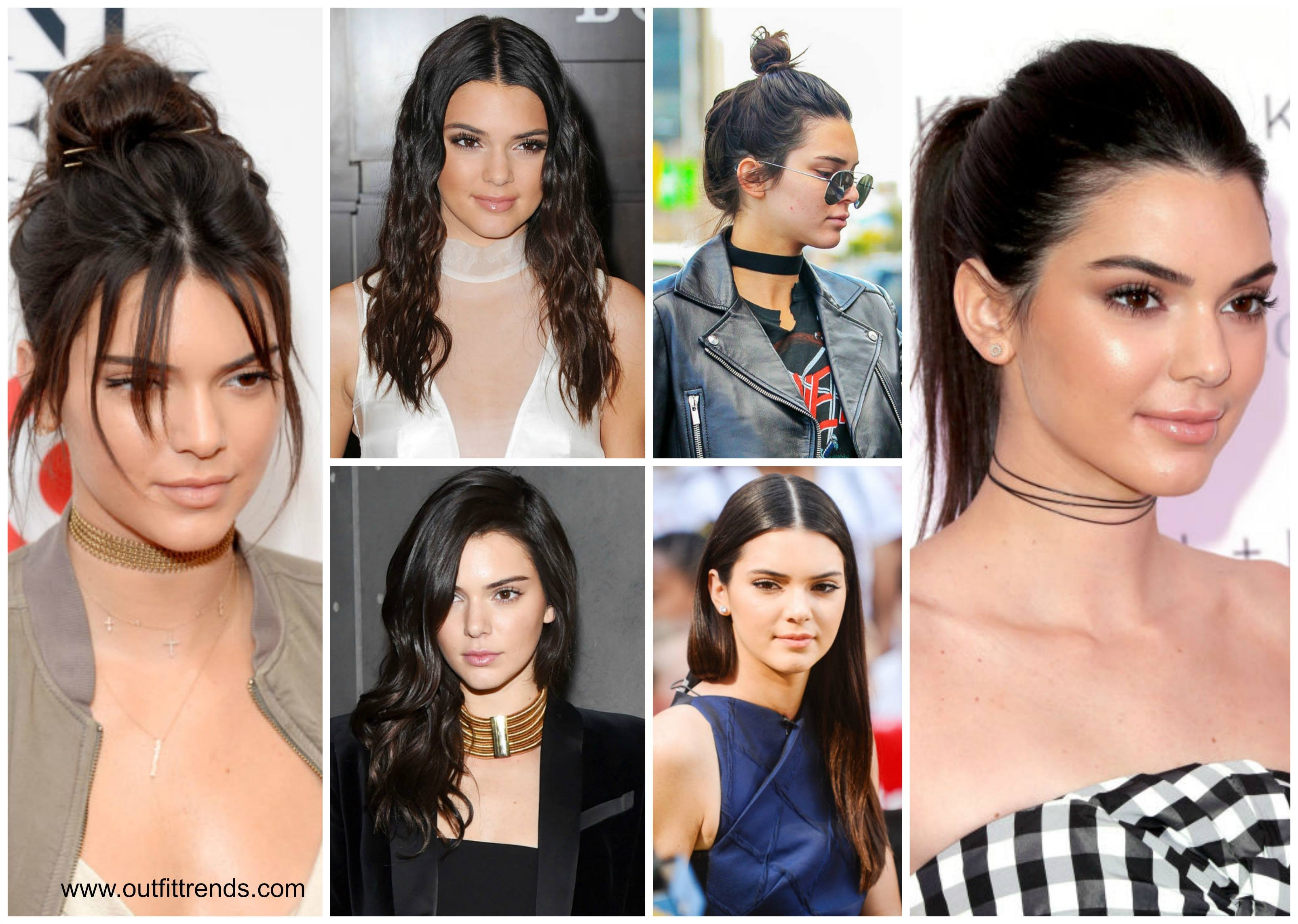 best-hairstyles-of-kendall-jenner 30 Most Stylish Kendall Jenner Outfits of All Time