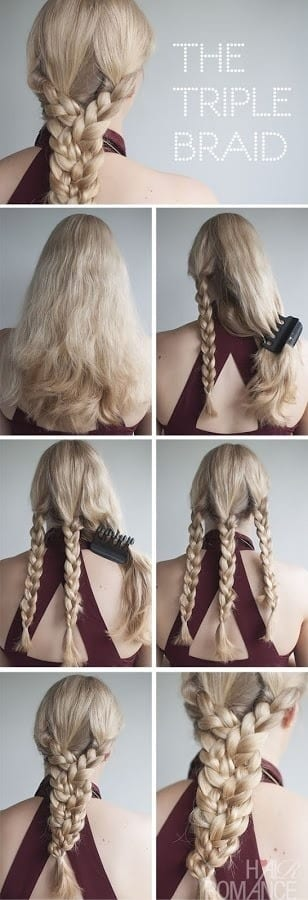 braid-hairstyles-tutorials 20 Cute and Easy Braided Hairstyle Tutorials