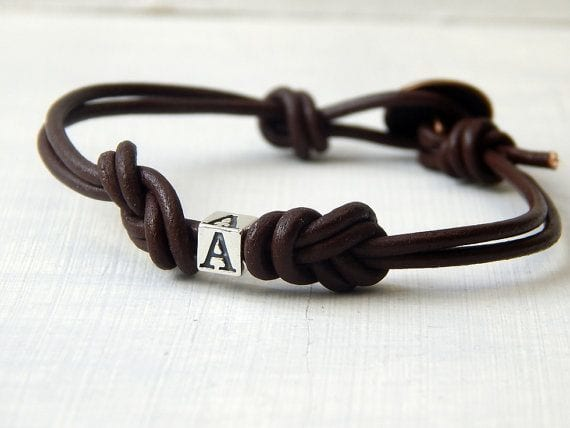 custom-leather-bracelets 35 Most Trendy and Cool Leather Bracelets for Men
