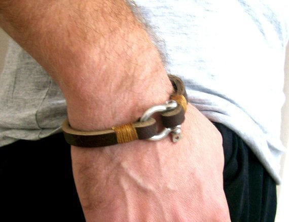 handmade-bracelets 35 Most Trendy and Cool Leather Bracelets for Men