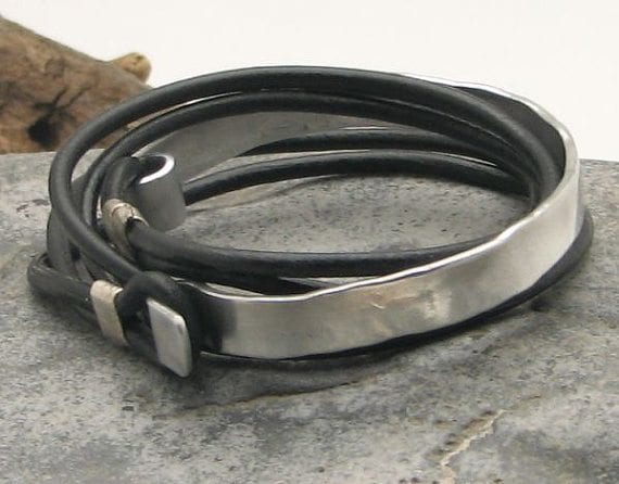 men-bracelet-trend 35 Most Trendy and Cool Leather Bracelets for Men