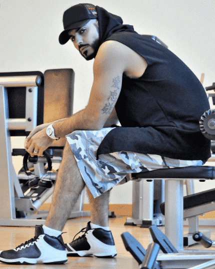omar-borkan-gym-outfit Omar Borkan's 100 Latest, Hottest and Most Stylish Pictures
