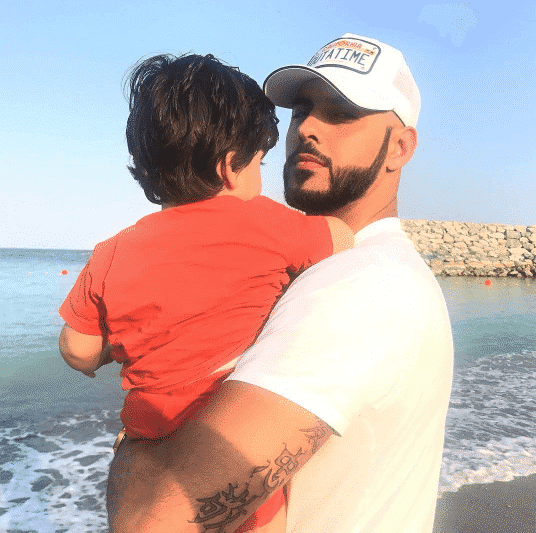 omar-borkan-with-his-son Omar Borkan's 100 Latest, Hottest and Most Stylish Pictures
