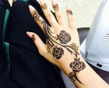rose mehndi designs