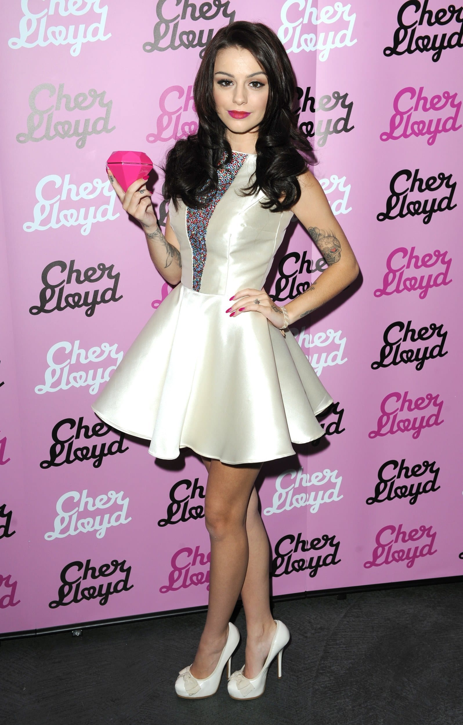 Cher Lloyd stylish dress